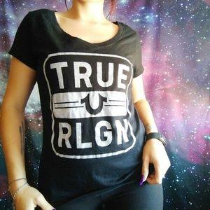 Bedazzled True Religion tee